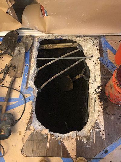 slab leak repair mckinney texas